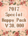 *2017 Special Happy Pack(\30,000)*